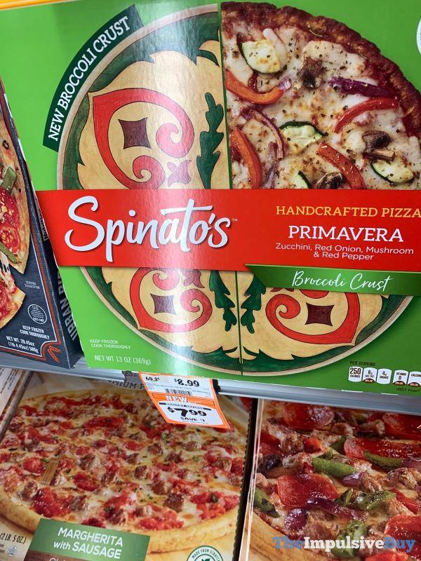 Spinato s Primavera Broccoli Crust Pizza