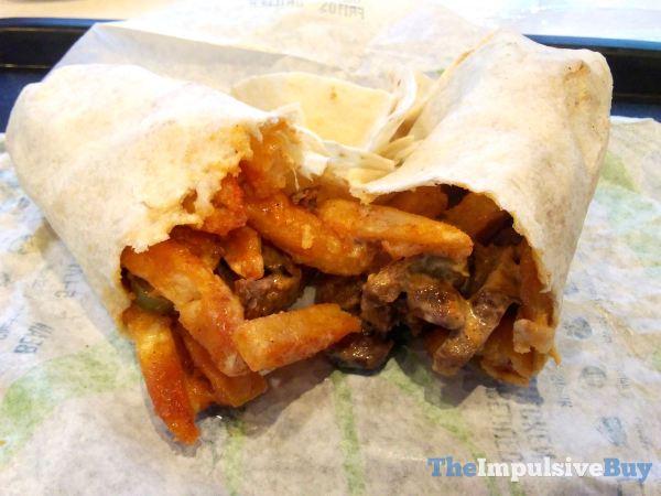Taco Bell Rattlesnake Fries Burrito