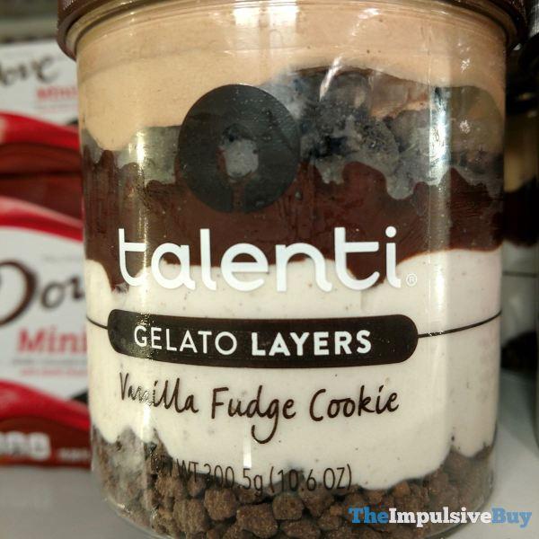 Talenti Gelato Layers Vanilla Fudge Cookie