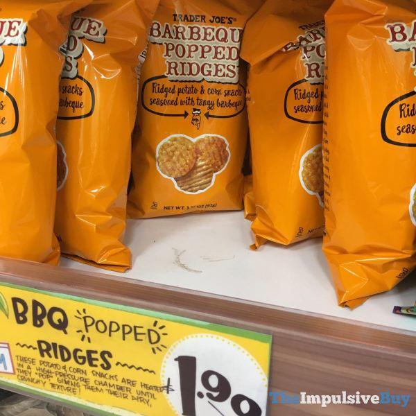 Trader Joe s Barbeque Popped Ridges
