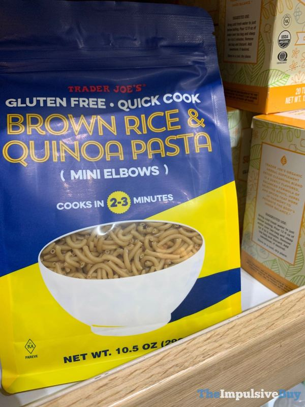 Trader Joe s Gluten Free Brown Rice  Quinoa Pasta Mini Elbows