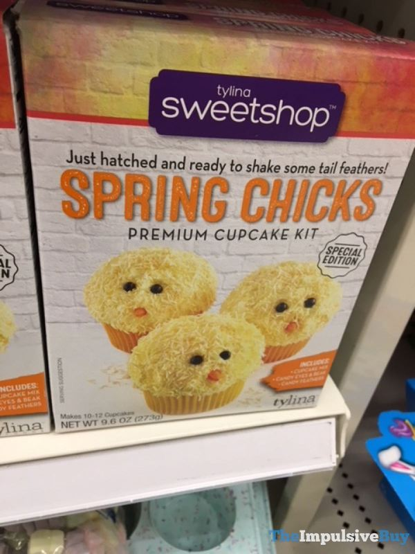 Tyling Sweetshop Spring Chicks Premium Cupcake Mix
