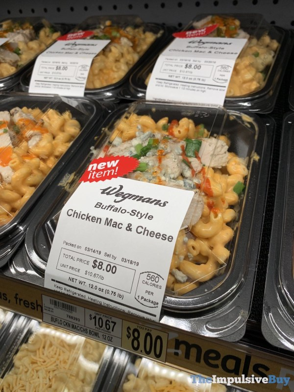Wegmans Buffalo Style chicken Mac  Cheese