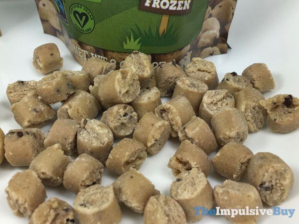 Ben  Jerry s Snackable Dough Vegan Chocolate Chip Cookie Dough Chunks