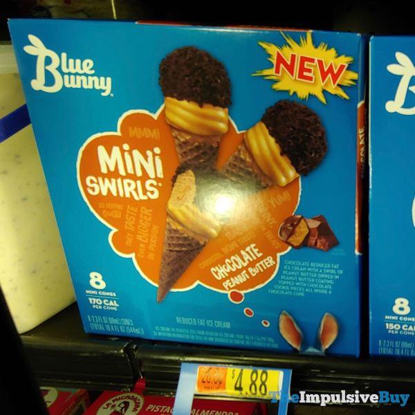 Blue Bunny Mini Swirls Chocolate Peanut Butter