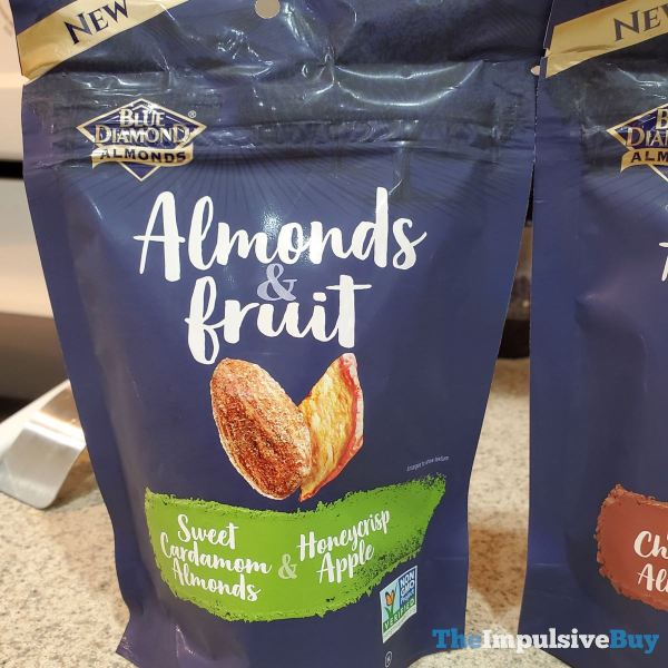 Blue Diamond Almonds  Fruit Sweet Cardamom Almonds  Honeycrisp Apple