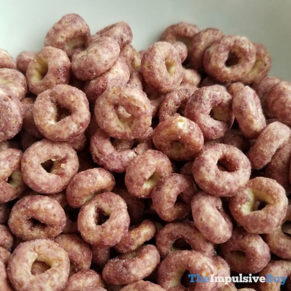 Blueberry Cheerios Cereal Dry