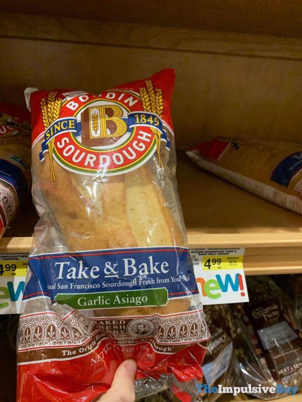 Boudin Sourdough Garlic Asiago Take  Bake Sourdough