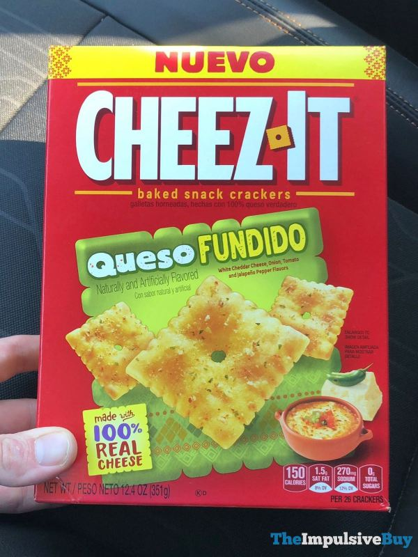 Cheez It Queso Fundido Crackers