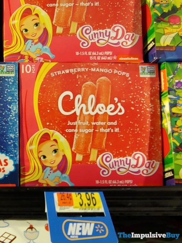 Chloe s Sunny Day Strawberry Mango Pops