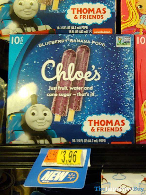 Chloe s Thomas  Friends Blueberry Banana Pops