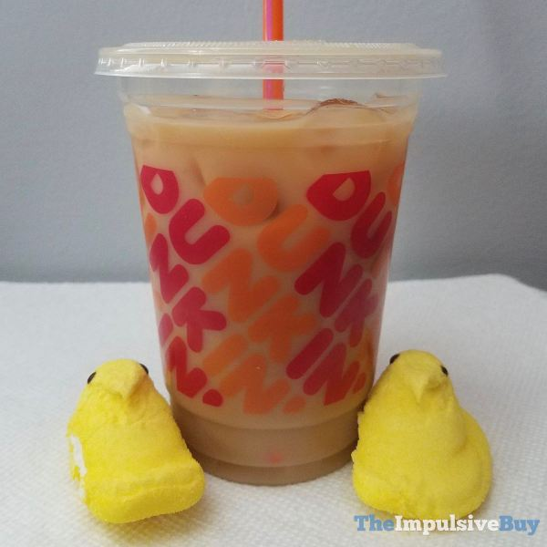 Dunkin Peeps Marshmallow Flavored Coffee