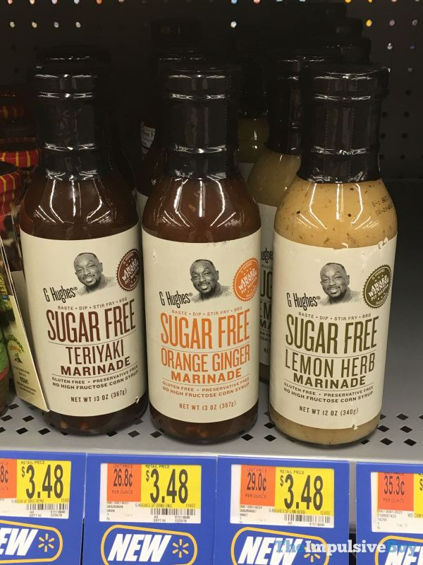 G Hughes Sugar Free Marinades  Teriyaki Orange Ginger and Lemon Herb