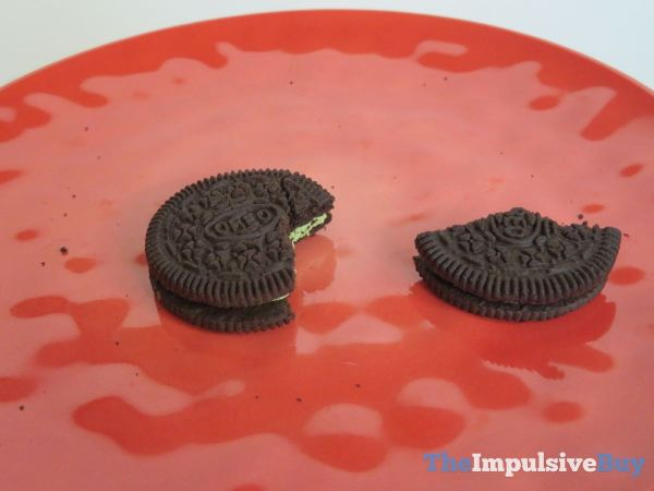 Hot Chicken Wing Oreo Cookies and Wasabi Oreo Remains