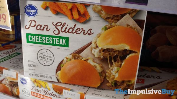 Kroger Pan Sliders Cheesesteak