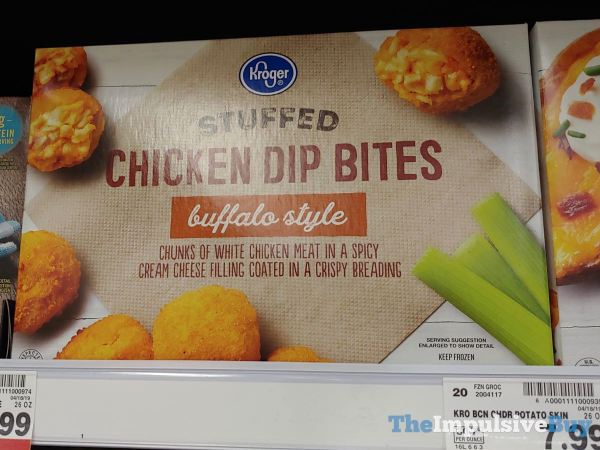 Kroger Stuffed Chicken Dip Bites Buffalo Style