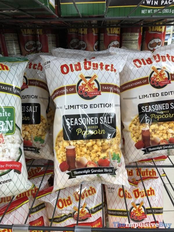 Old Dutch Limited Edition Seasoned Salt Popcorn