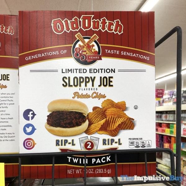 Old Dutch Limited Edition Sloppy Joe Potato Chips