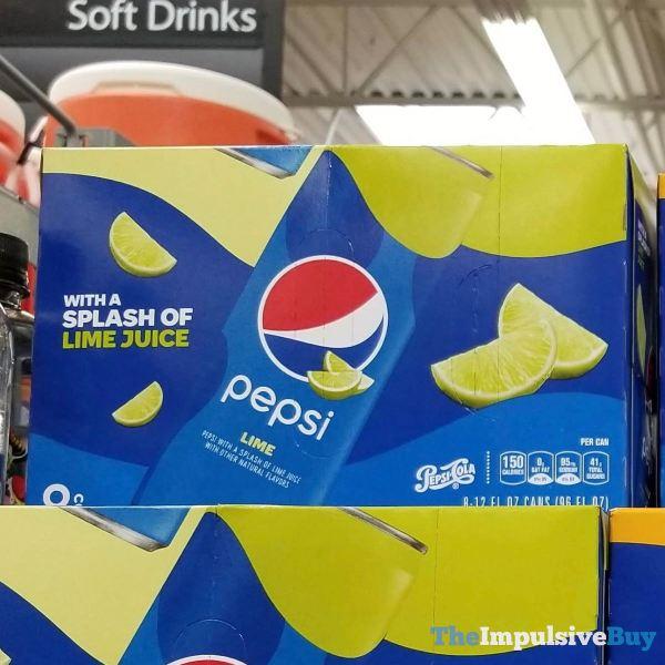 Pepsi Lime  2019