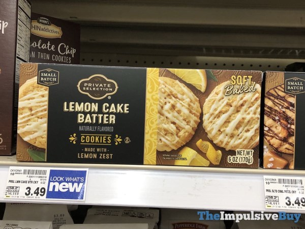 Private Selection Lemon Cake Batter Cookies