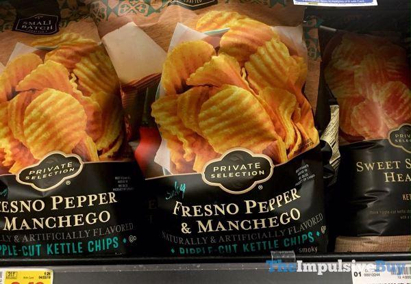 Private Selection Smoky Fresno Pepper  Manchego Potato Chips