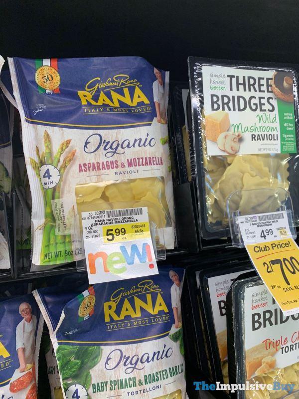 Rana Organic Asparagus  Mozzarella Ravioli