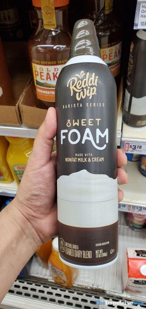 Reddi Whip Barista Series Sweet Foam