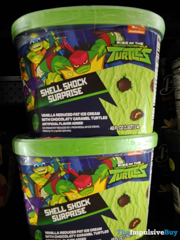 Rise of the Teenage Mutant Ninja Turtles Shell Shock Surprise Ice Cream