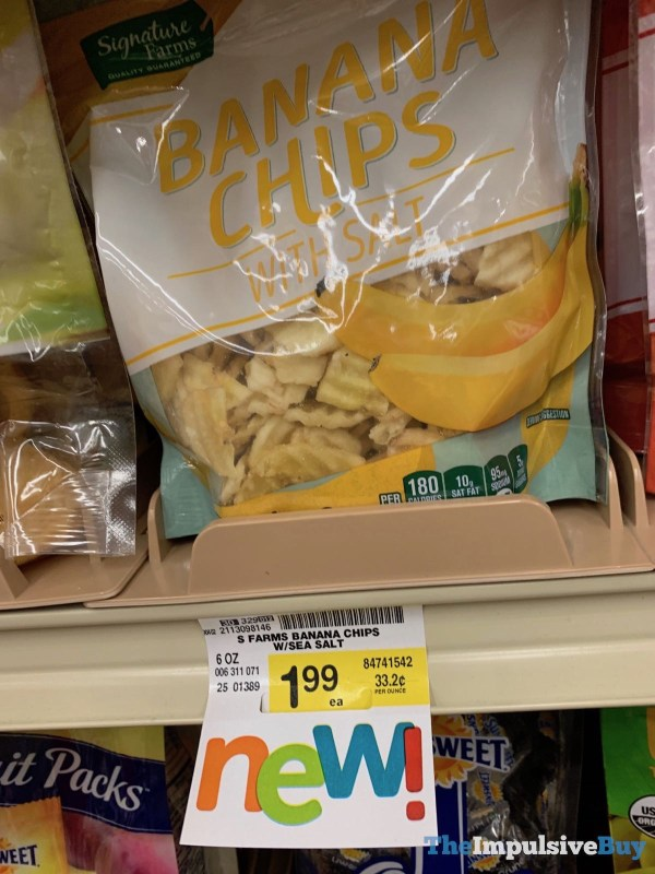 Signature Farms Banana Chips with Salt