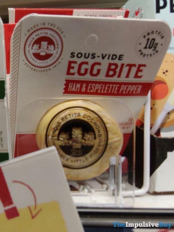 Three Little Pigs Ham  Espelette Pepper Sous Vide Egg Bite
