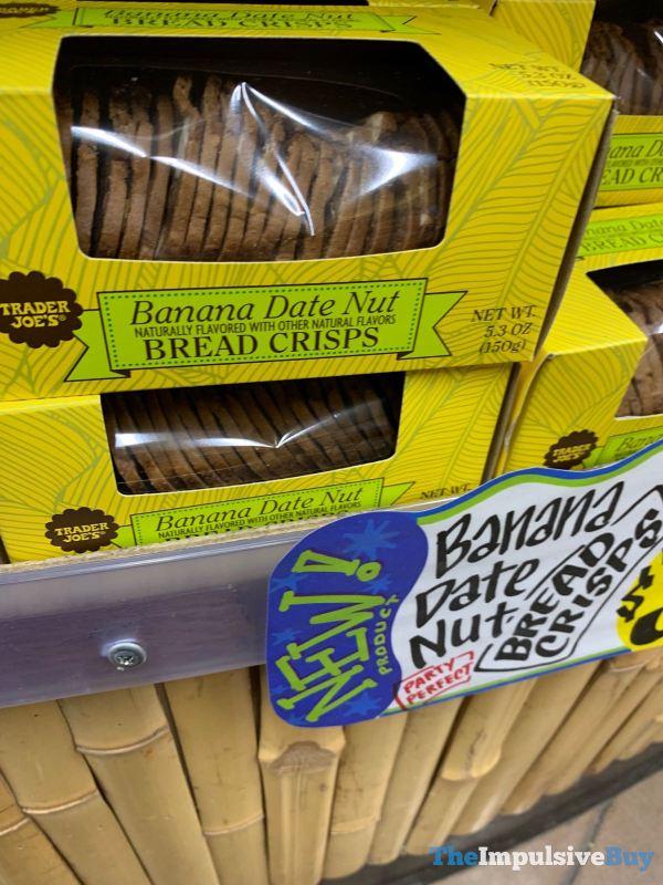 Trader Joe s Banana Date Nut Bread Crisps