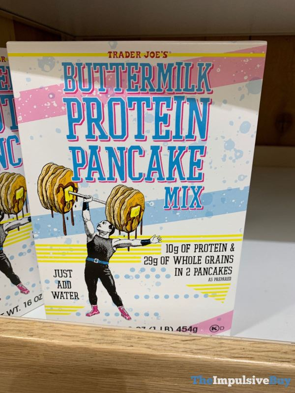 Trader Joe s Buttermilk Protein Pancake Mix