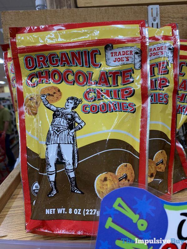 Trader Joe s Organic Chocolate Chip Cookies