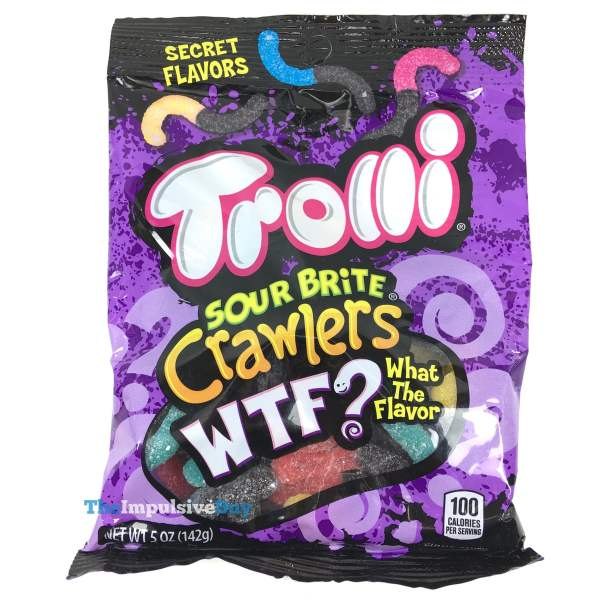 b1e3466f1e80 REVIEW  Now and Later WTF and Trolli Sour Brite Crawlers WTF - The ...