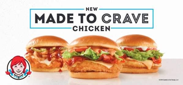 Wendy s Made to Crave Chicken Sandwiches
