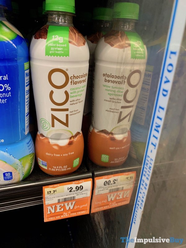 Zico Chocolate Flavored Coconut Water with Protein