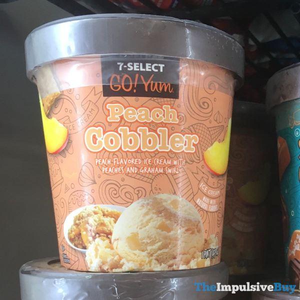 7 Select Go Yum Peach Cobbler Ice Cream