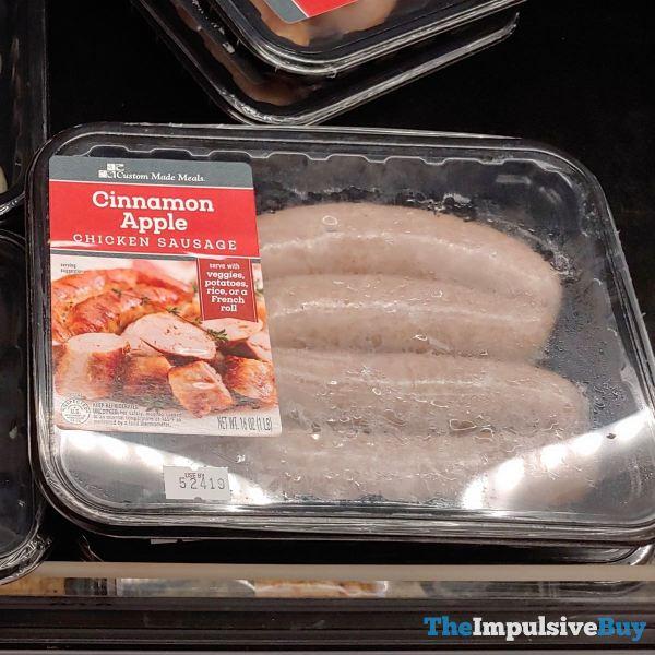 Custom Made Foods Cinnamon Apple Chicken Sausage  Version 2