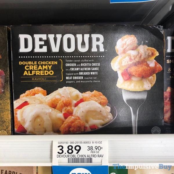 Devour Double Chicken Creamy Alfredo Ravioli