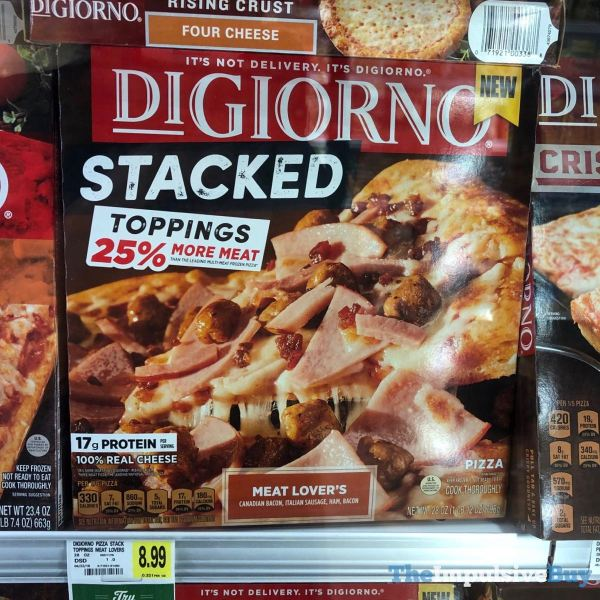 DiGiorno Stacked Meat Lover s Pizza x2