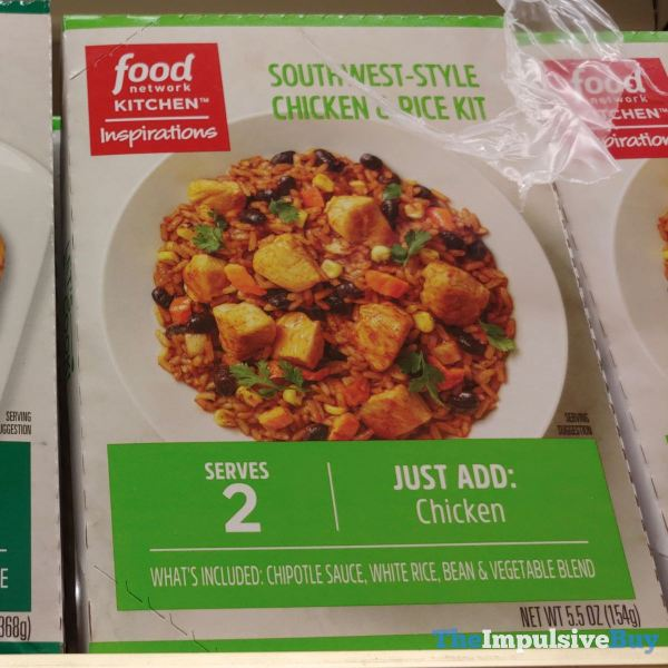 Food Network Kitchen Inspirations Southwest Style Chicken  Rice Kit