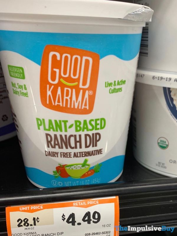 Good Karma Plant Based Ranch Dip