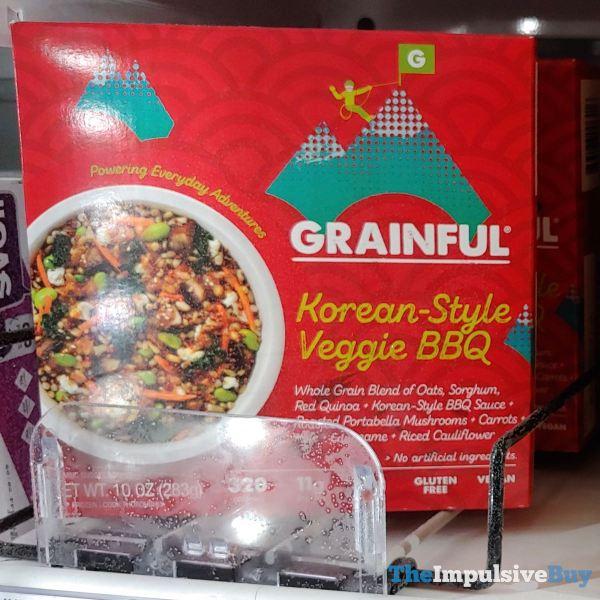 Grainful Korean Style Veggie BBQ