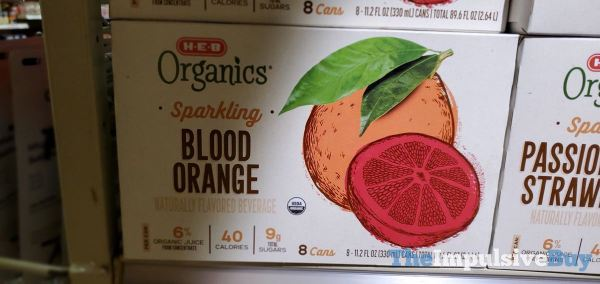 H E B Sparkling Blood Orange
