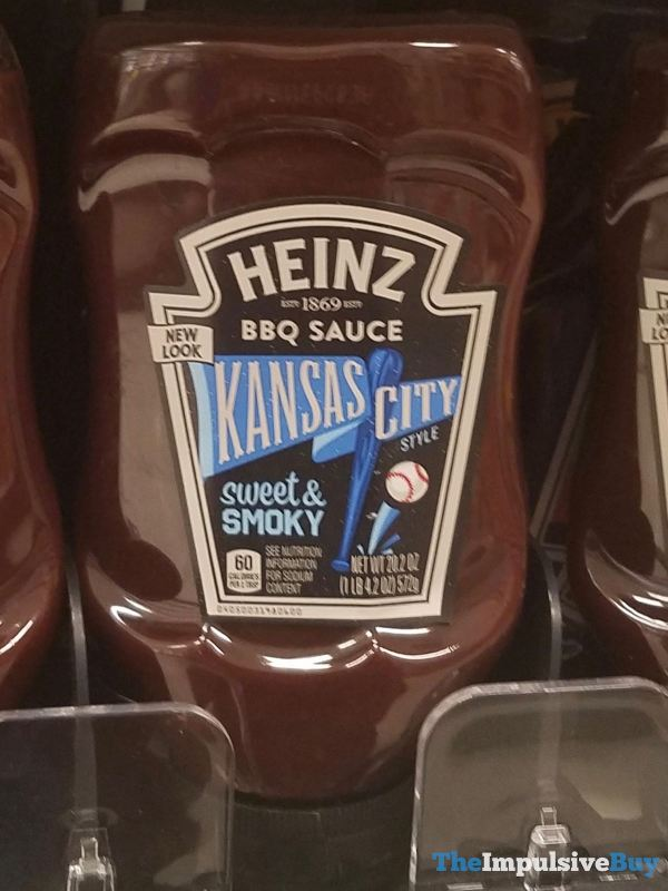 Heinz Kansas City Style BBQ Sauce  2019 Redesign