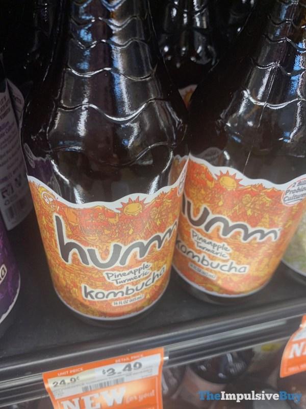 Humm Pineapple Turmeric Kombucha