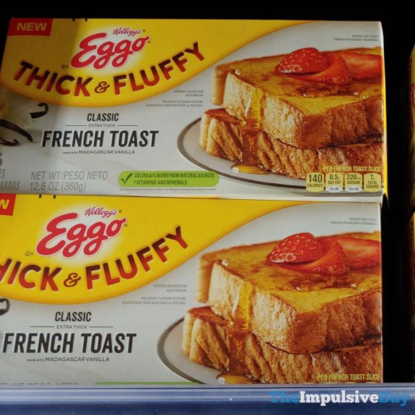Kellogg s Eggo Thick  Fluffy Classic French Toast