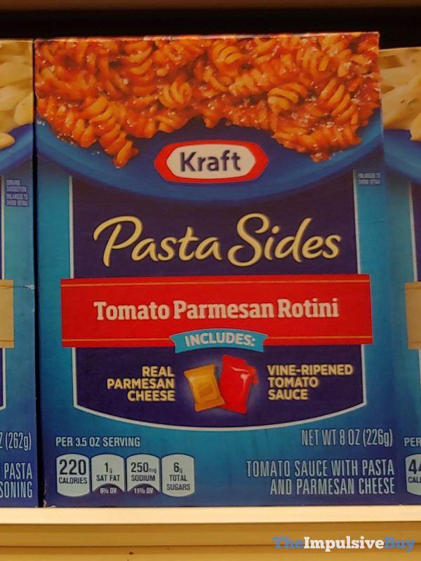Kraft Pasta Sides Tomato Parmesan Rotini
