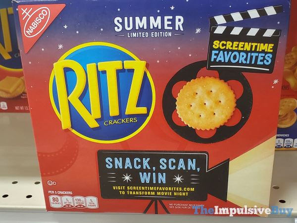 Limited Edition Summer Ritz Crackers