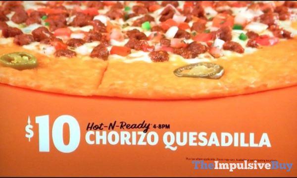 Little Caesars Chorizo Quesadilla Pizza Price